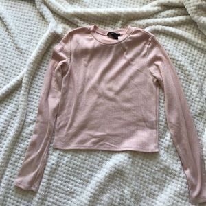F21 ribbed long sleeve